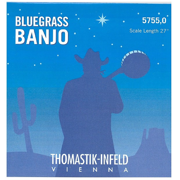 Thomastik-Infeld Banjo Bluegrass Strings - Scale lenght 27