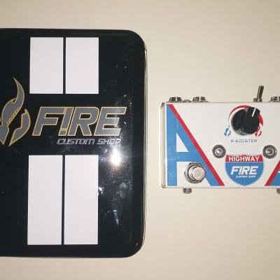 Fire Custom Shop PEDAL FIRE Highway AB Box Booster