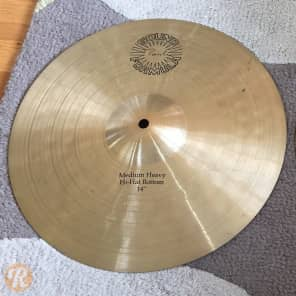 "Paiste 14"" Sound Formula Medium Heavy Hi-Hat Cymbal (Bottom)"