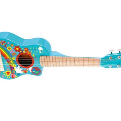 Hape Flower Power Guitar for Children for sale