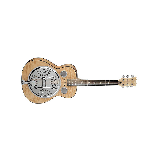 Dean Resonator Spider Quilted Maple Gloss Natural Gn