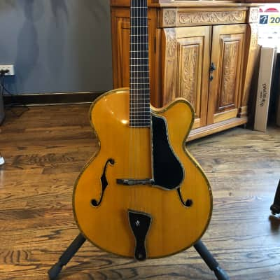 Danche Guitars DZ 57 Archtop Jazz Guitar 2014 Transparent Natural