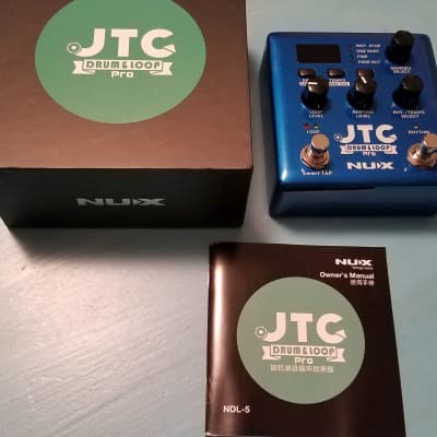 NuX JTC Drum & Loop Pro with box and manual