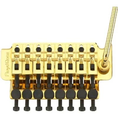 Floyd Rose 8-String Tremolo System Gold Brand New