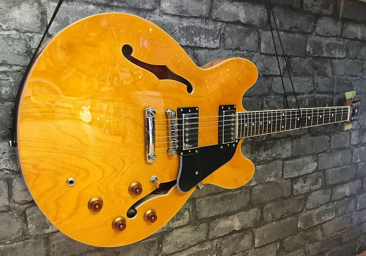 Tokai Es68 73 Natural Semi Acoustic Guitar Reverb