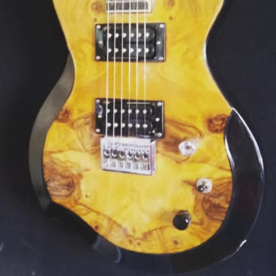 Occhineri Custom Guitar Elm Burl for sale