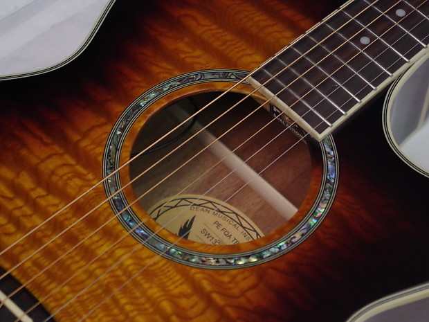 Dean Guitars Natural Florentine Cutaway ... - Audiofanzine