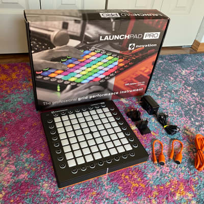 Novation Launchpad Pro MKII 64 rgb pad Drum Synth Ableton Daw Controller