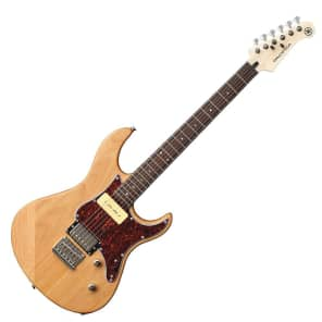 Yamaha PAC311H-YNS Pacifica Series H/P-90 Electric Guitar Yellow Natural Satin w/ Rosewood Fretboard