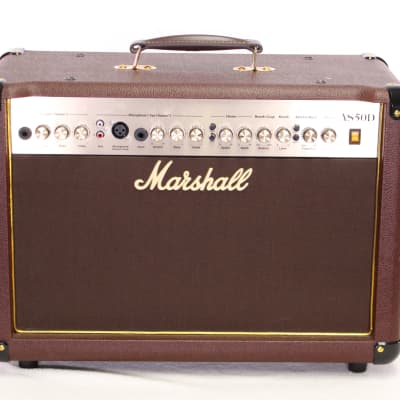 Marhsall AS50D 50w 2-Channel Acoustic Combo Amplifier
