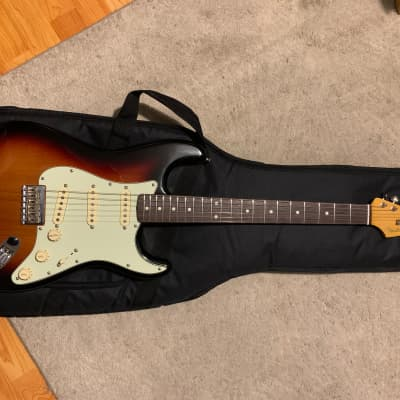 Fender Robert Cray Artist Series Signature Stratocaster 2019 Sunburst for sale