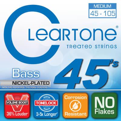 Cleartone .045-.105 Medium Bass Strings