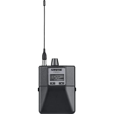 Shure P9RA (G7 506-542 MHz) Rechargeable Bodypack Receiver for Shure PSM900 Personal Monitor System