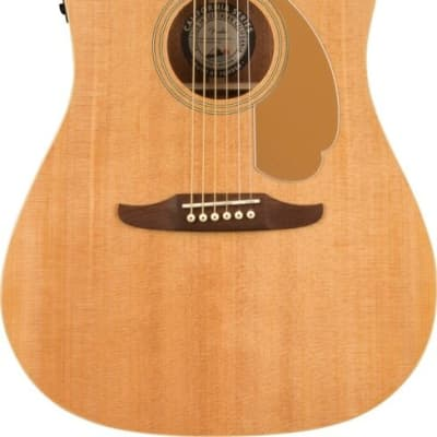 Fender Redondo Player Acoustic/Electric Guitar Natural