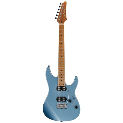 Ibanez PRESTIGE AZ2402 MADE IN JAPAN ICE BLUE METALLIC 6 STRING GUITAR for sale