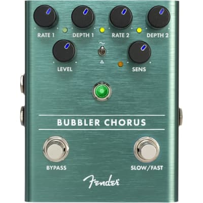 Fender Bubbler Analog Chorus/Vibrato Effects Pedal for sale