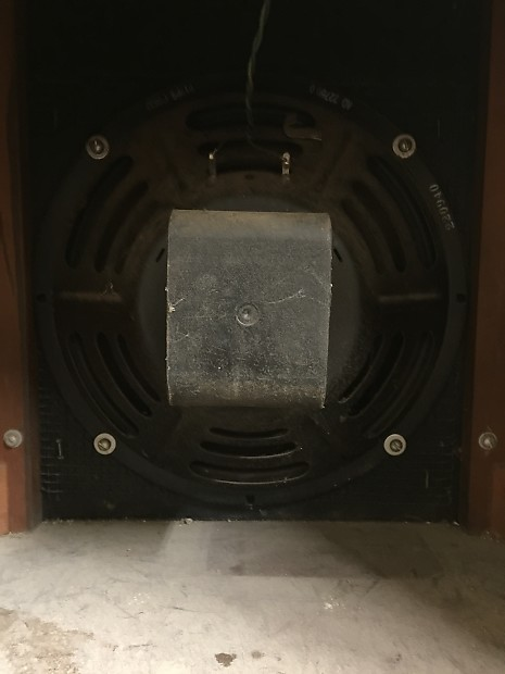 "Jensen Vintage Guitar Speaker Cabinet 12"" P12PS alnico ..."