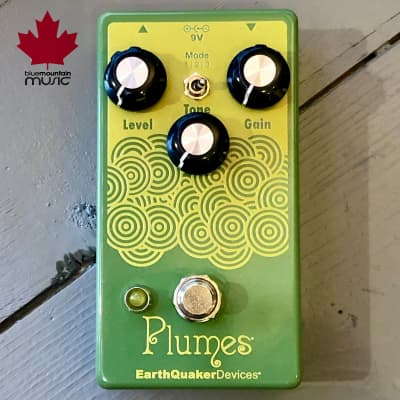EarthQuaker Devices Plumes Small Signal Shredder Overdrive *In Stock*