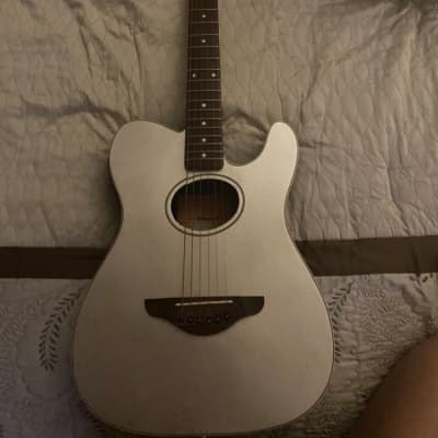 Fender Telecoustic Silver