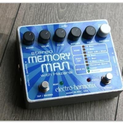 "Electro-Harmonix"" Memory Man Stereo with Hazarai"""