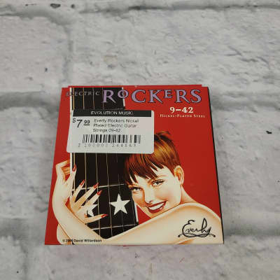 Everly Rockers Nickel Plated Electric Guitar Strings 09-42