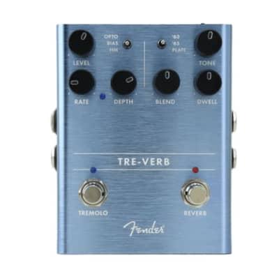 Fender Tre-Verb Tremolo Reverb Pedal for sale