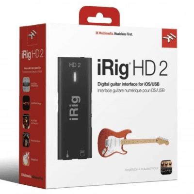 IK Multimedia iRig HD 2 Mobile USB Guitar Interface