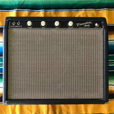 1964 Fender 'Tuxedo' Princeton (transitional 6G2 circuit) for sale