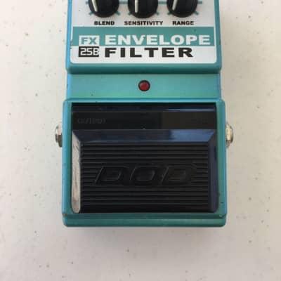 DOD Digitech FX25B Envelope Filter Auto Wah Vintage Guitar Bass Effect Pedal