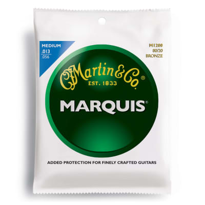 Martin M-1200 Marquis 80/20 Bronze Medium Acoustic Strings