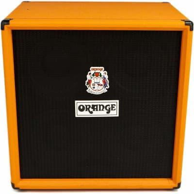 Orange Amplifiers OBC Series OBC410 600W 4x10 Bass Speaker Cabinet  Orange for sale