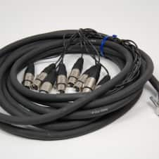 Redco 20ft DSUB-XLRF Redco TSG-8 Neutrik connectors