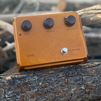 Klon Centaur - Gold - from Joe Bonamassa  Premier Guitar Rig Giveaway Contest -