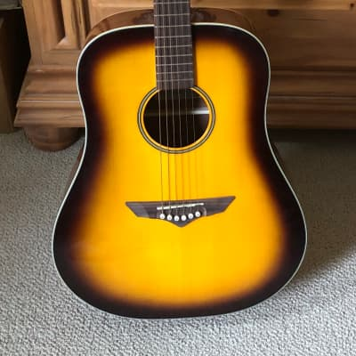 VGS VG500306 RT-10 Sunburst Acoustic Guitar for sale