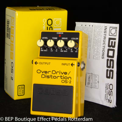 Boss OS-2 Overdrive/Distortion 2001 s/n OO30928