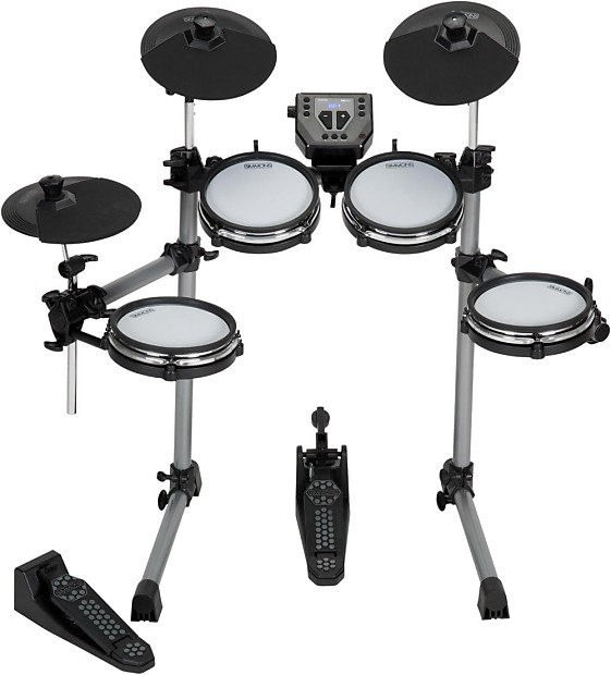simmons sd350 electronic drum kit with mesh pads music123 reverb. Black Bedroom Furniture Sets. Home Design Ideas