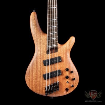 Ibanez SRFF4505 SOL Multi-Scale Fanned Fret Bass - Stained Oil (293) for sale