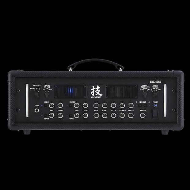 boss waza 150w guitar amp head alto music reverb. Black Bedroom Furniture Sets. Home Design Ideas