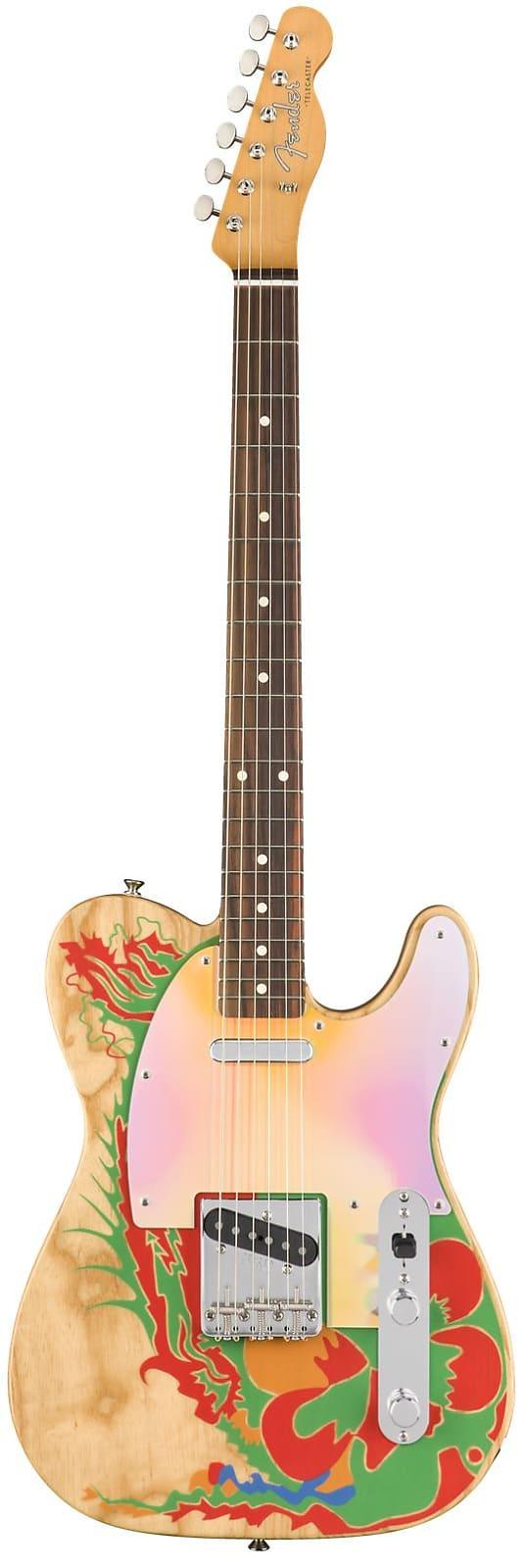 Fender 0146230721 Jimmy Page Telecaster®, Rosewood Fingerboard - Natural  2019