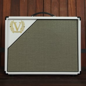 "Victory Amps V112-WW-65 1x12"" 65-Watt Wide Body Closed Back Extension Speaker Cabinet with Celestion G12M-65 Creamback"