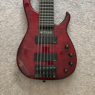 Modulus Quantum Six String Bass, Q6, Excellent Condition, EMG for sale