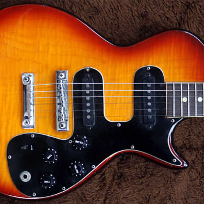 Extremely Rare Hoyer 5068 Melody Maker 1970s Sunburst Made in Germany