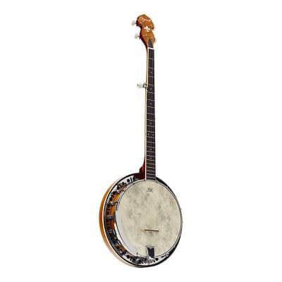 Ozark 5 String Banjo - Cherry Sunburst for sale