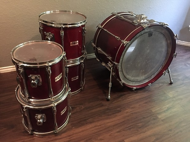 yamaha recording custom 5 piece drum set excellent used drum reverb. Black Bedroom Furniture Sets. Home Design Ideas