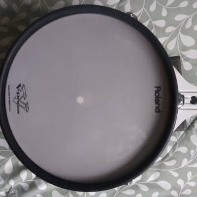 Roland V Drum Electronic Drum Pd-120 Pd120 1990's White