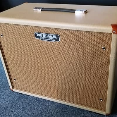 Mesa Boogie Compact Wide Body Cab 1x12 / Cream with Tan Grill