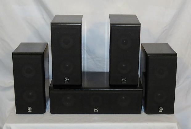 Betere Yamaha 5-piece Surround Speaker Set (NX-C430 Center, 4 C430P | Reverb BH-82