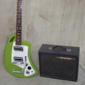 Meazzi ZODIAC and METROPOLITAN AMP  1965 Green for sale