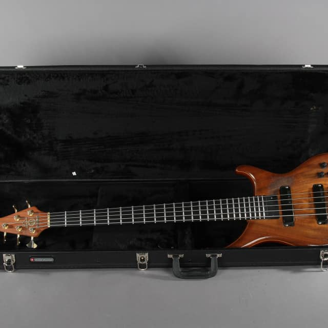 1997 Alembic Orion 5 string Bass Guitar image