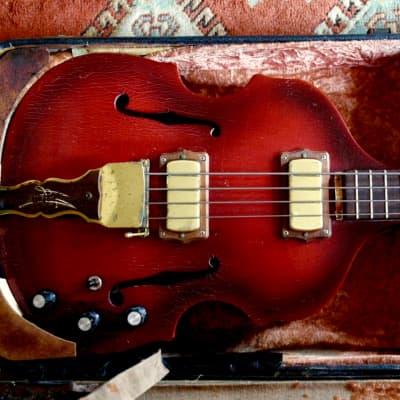 Maton Baroque Bass 1968 Cherry Burst for sale